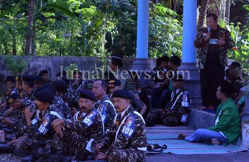 Ansor dan Banser se Jawa Timur Doa Bersama di Monumen Pancasila Jaya