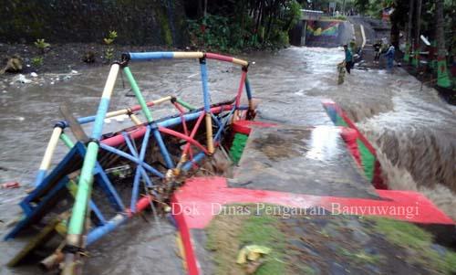 Dinas Pengairan Banyuwangi: Perubahan Tata Guna Lahan Hulu DAS Penyebab Banjir!