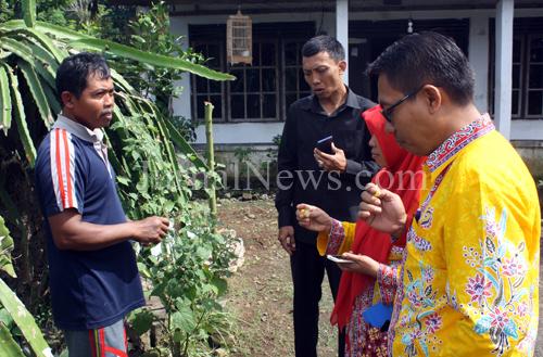 Tim Juri Desa Berseri Kepincut Budidaya Ciplukan Desa Purwodadi