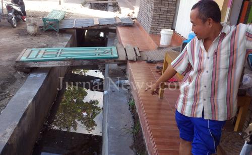 Lapor Pak Bupati, Proyek Drainase Ini Amburadul