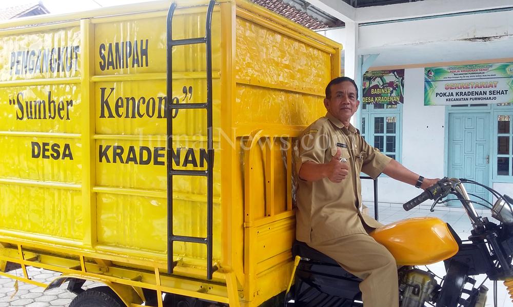 Desa Kradenan Bersiap Merdeka dari Sampah
