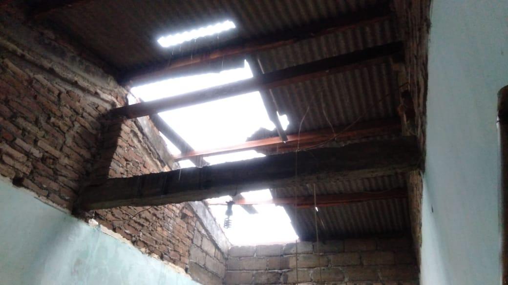 Angin Kencang Disertai Hujan, Tiga Rumah Rusak Di Desa Sarimulyo