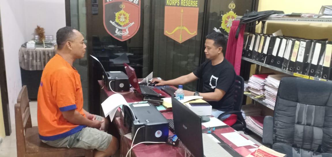 Mencuri Handphone Di Lokasi Wisata Djawatan, Diringkus Jajaran Polsek Cluring