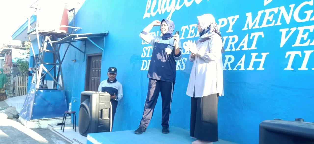 Nyonya Yusuf Widiatmoko Kunjungi Pesenam Lingtienkung Diperumnas Muncar